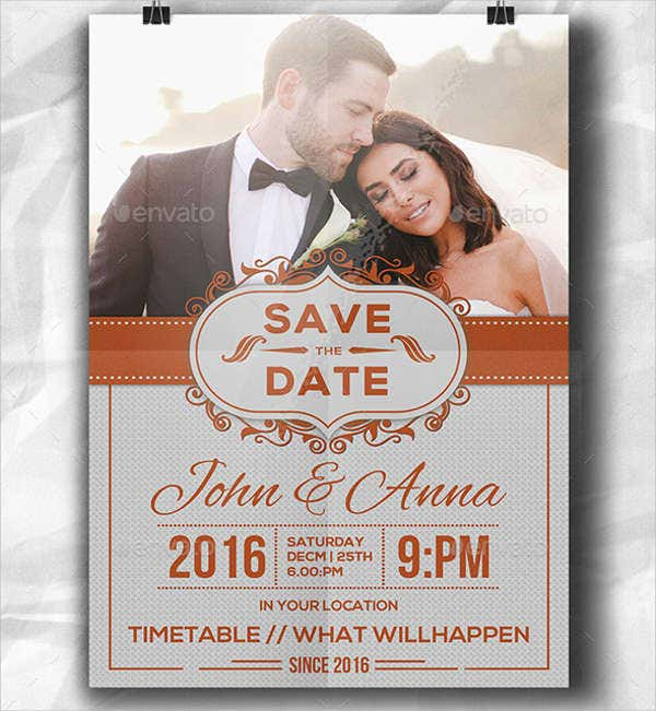 wedding reception invitation flyer