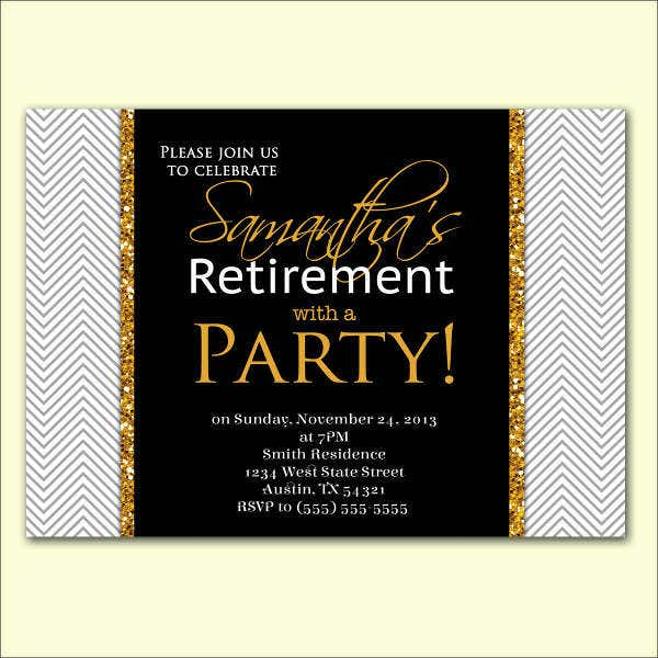 retirement celebration invitation card2