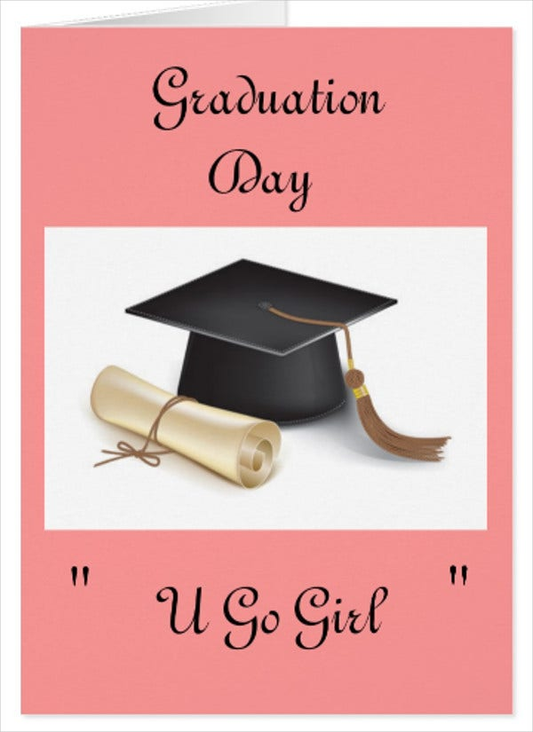 Greeting card designs free premium templates graduation day greeting card m4hsunfo Images
