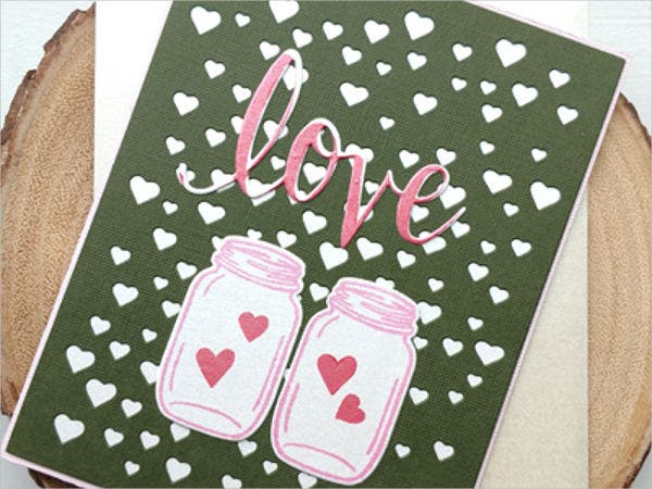 free handmade greeting card
