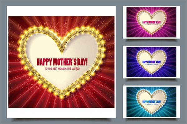 mothers day handmade greeting card