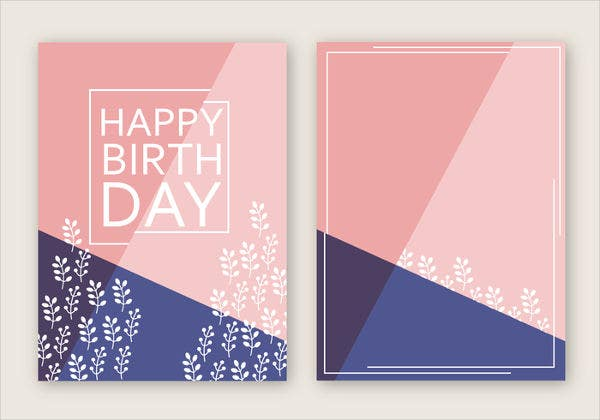 Sample Birthday Cards Free Premium Templates
