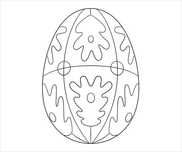 9 Easter Coloring Pages Printable Jpg Psd Eps Format Download Free Premium Templates