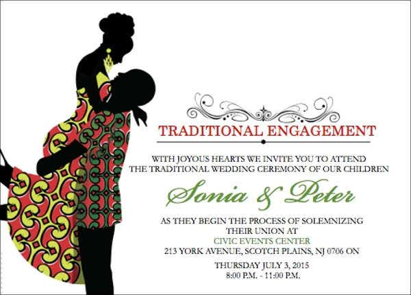 traditional engagement invitation card2
