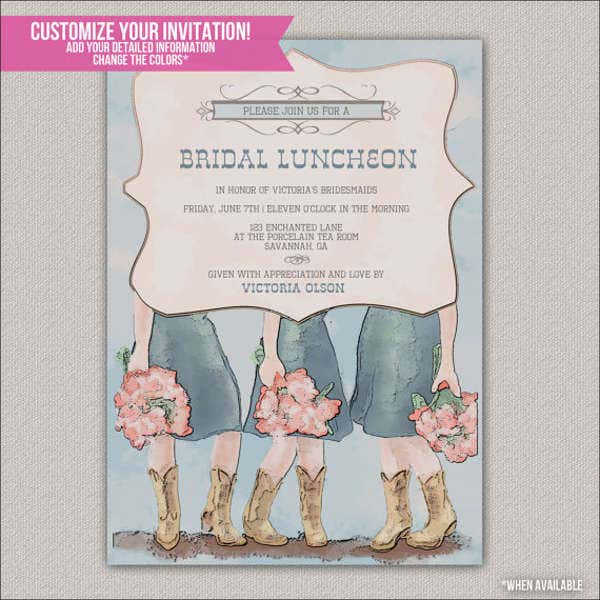 diy bridesmaid invitation card1