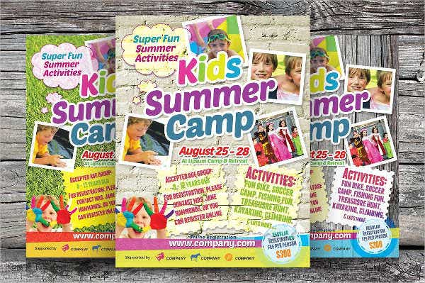 summer camp invitation flyer1