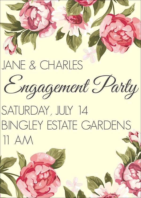 diy engagement invitation card11