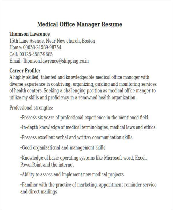 Resume Font Word Resume Templates Medical Office Manager Resume Executive Summary Examples Excel with Benefits Manager Resume Excel Resume Sales Assistant Responsibilities Myperfectresume Com Food Industry Resume