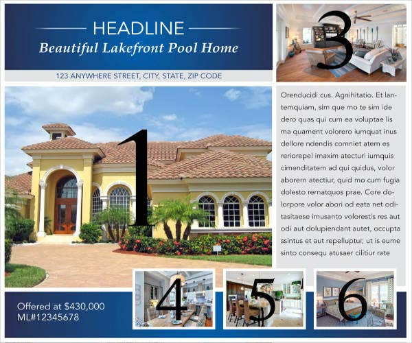 luxury-home-real-estate-flyer