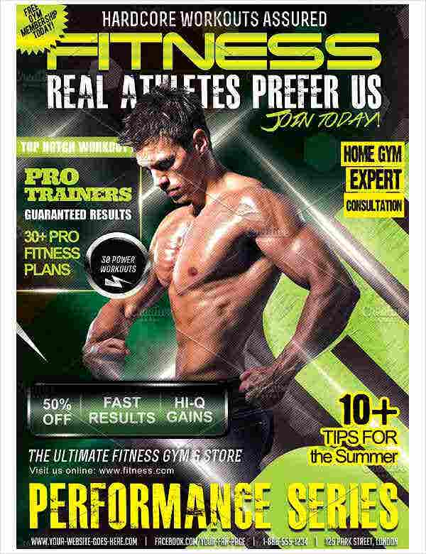 Creative Fitness Cover Flyer