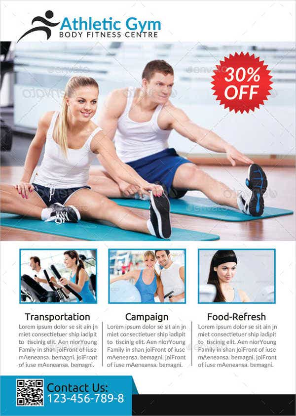 Fitness Flyer Templates – Fitness Flyer