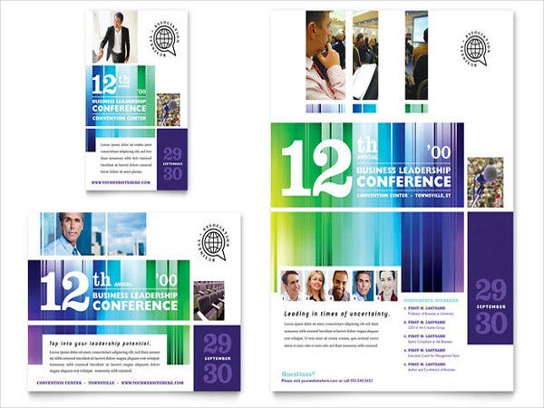 sales-conference-flyer