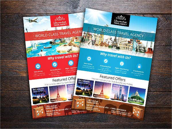group travel flyer