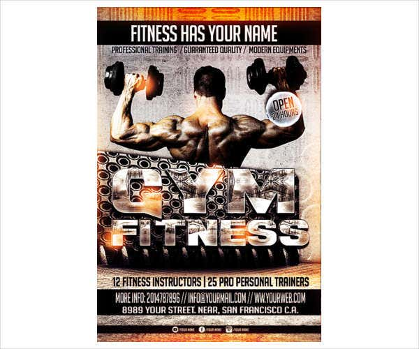 Fitness Photography Studio Flyer