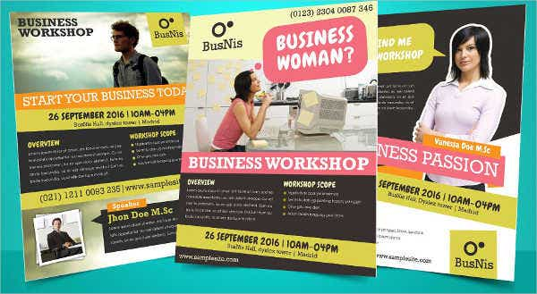 business promotion invitation flyer