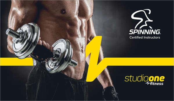 Body Fitness Studio Flyer