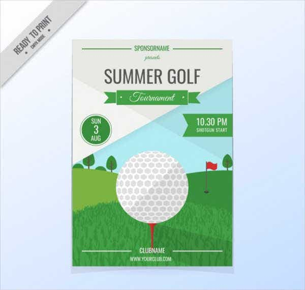 golf event invitation flyer2