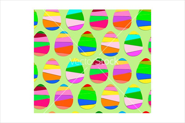 Easter Egg Stripes Texture