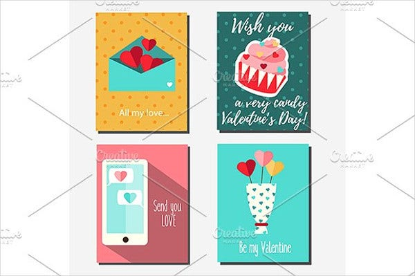 valentines day greeting card for girlfriend