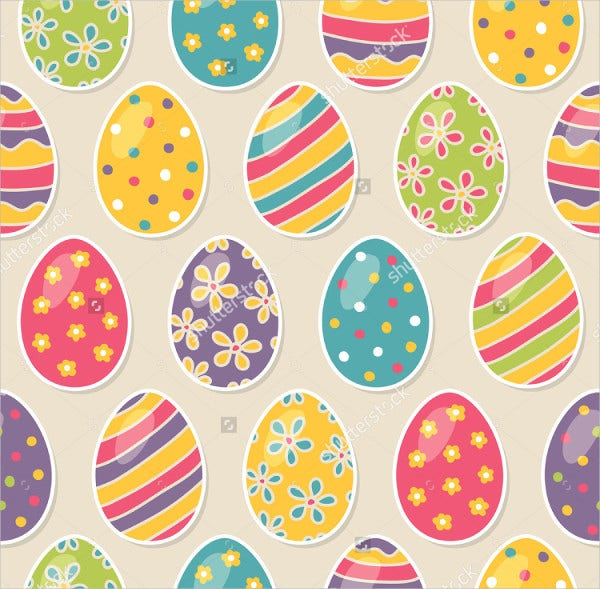 Easter Egg Pastel Texture