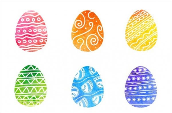 decorative easter egg texture