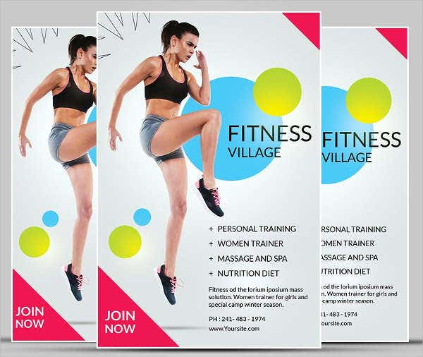 Summer Camp Fitness Flyer