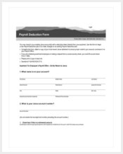 free-payroll-deduction-form-template