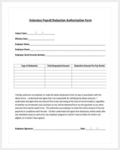 voluntary-payroll-deduction-form-template