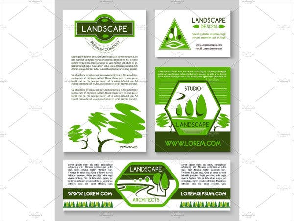 landscaping company flyer