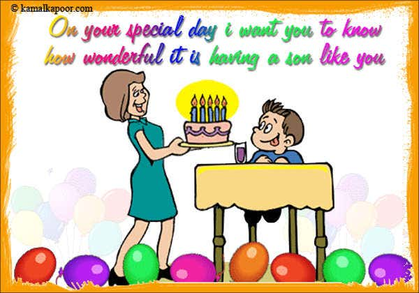 funny animated birthday card