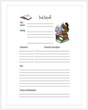 book-report-template