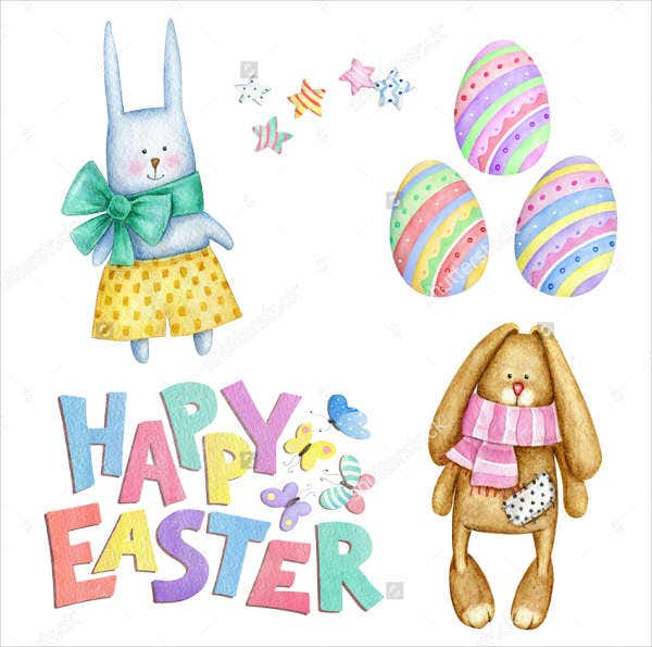 9 easter bunny templates printable jpg psd eps format for Easter bonnet printable templates