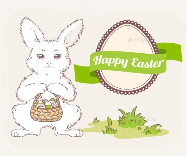 easter-egg-cartoon-label-template