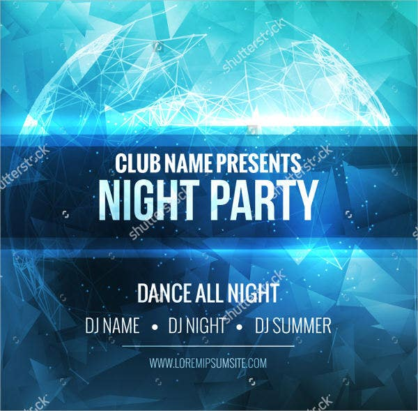 night club event flyer1