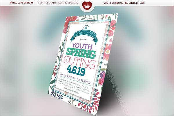 customized youth event flyer