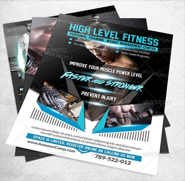 Corporate Fitness Flyer PSD