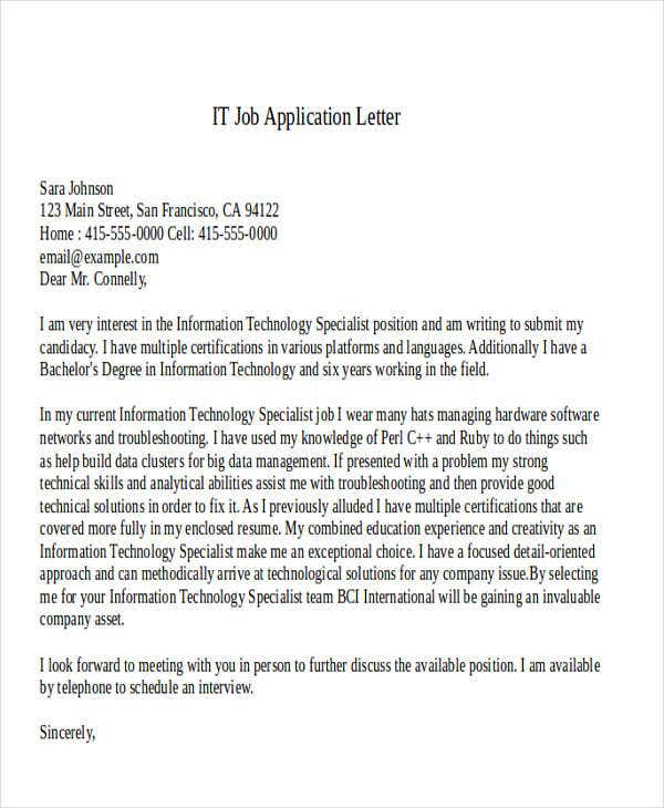 it job application letter3