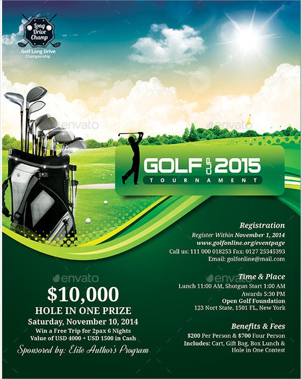 Golf Event Flyer