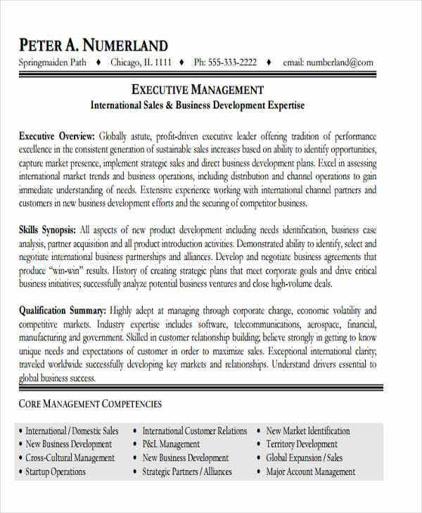 business development executive resume4