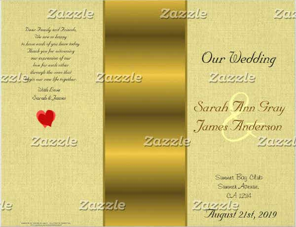 wedding-program-event-flyer