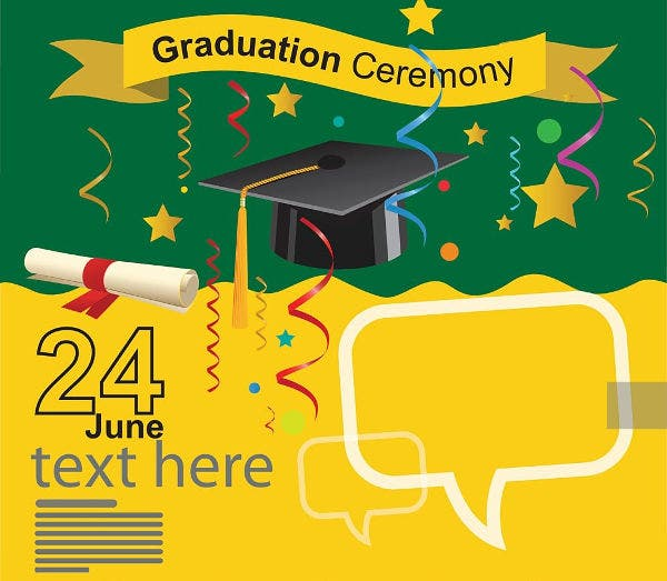 graduation ceremony invitation card4