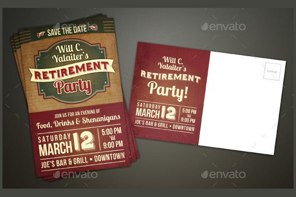 retirement party invitation card3