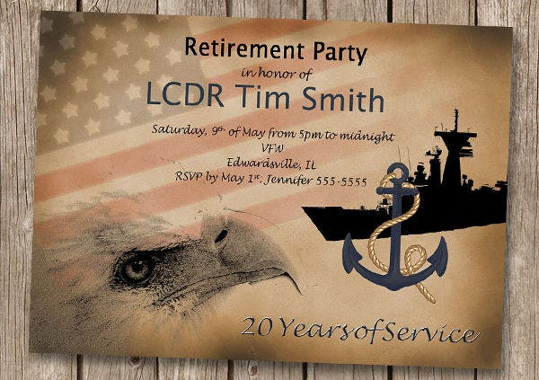 retirement farewell invitation card4