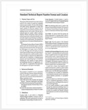 standard-technical-report