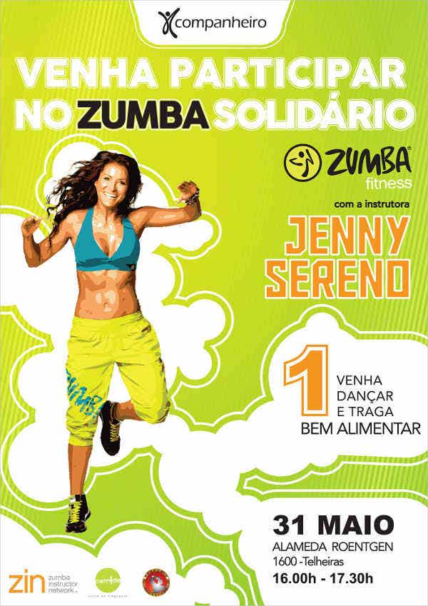 zumba dance fitness flyer1