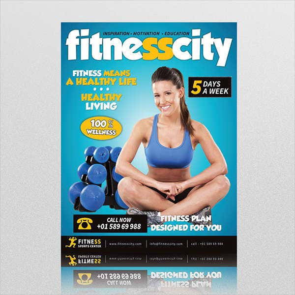 Free Health and Fitness Flyer