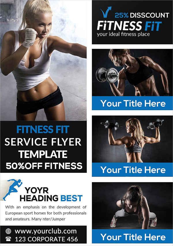 Modern Fitness Sports Flyer
