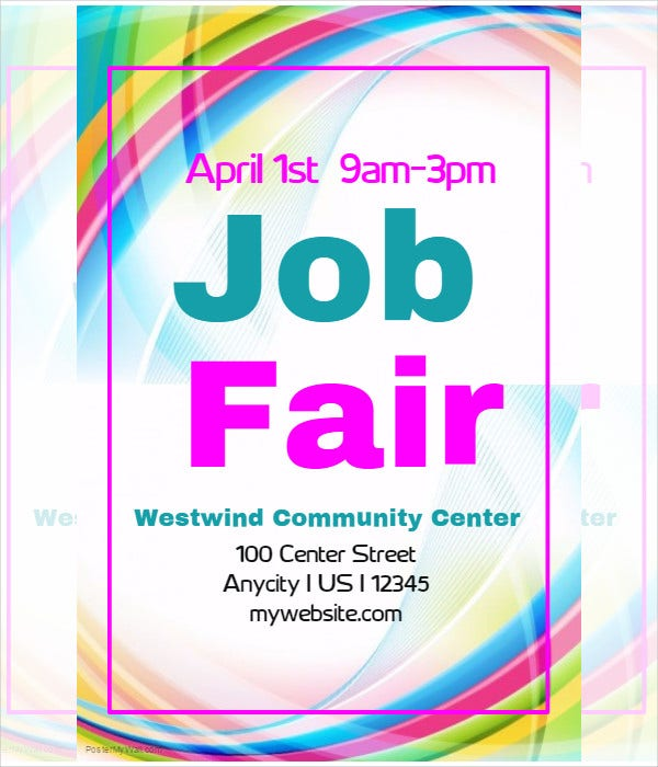 job fair brochure template - example of flyer templates 69 free psd vector ai eps