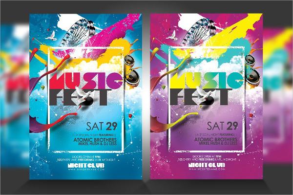 music festival flyer1