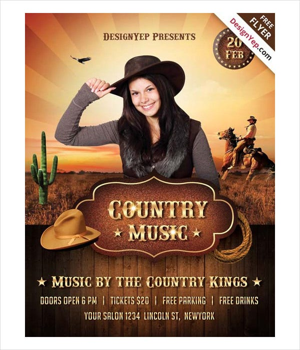 country-music-flyer